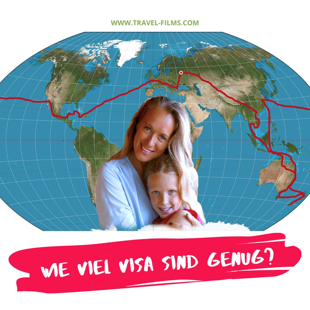 Visafrei Weltreise