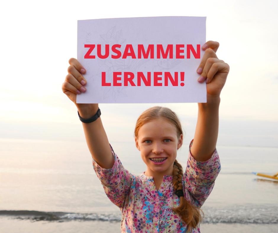 ZUSAMMEN LERNEN!