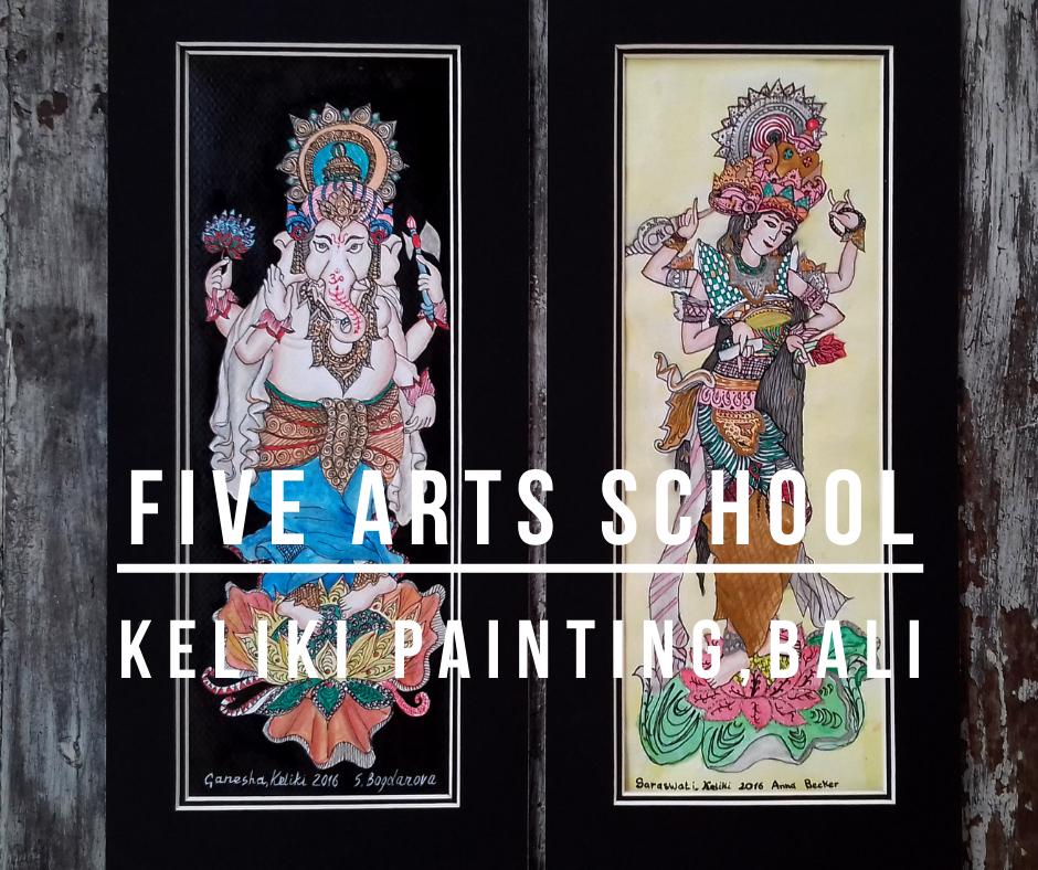 five arts school ubud bali