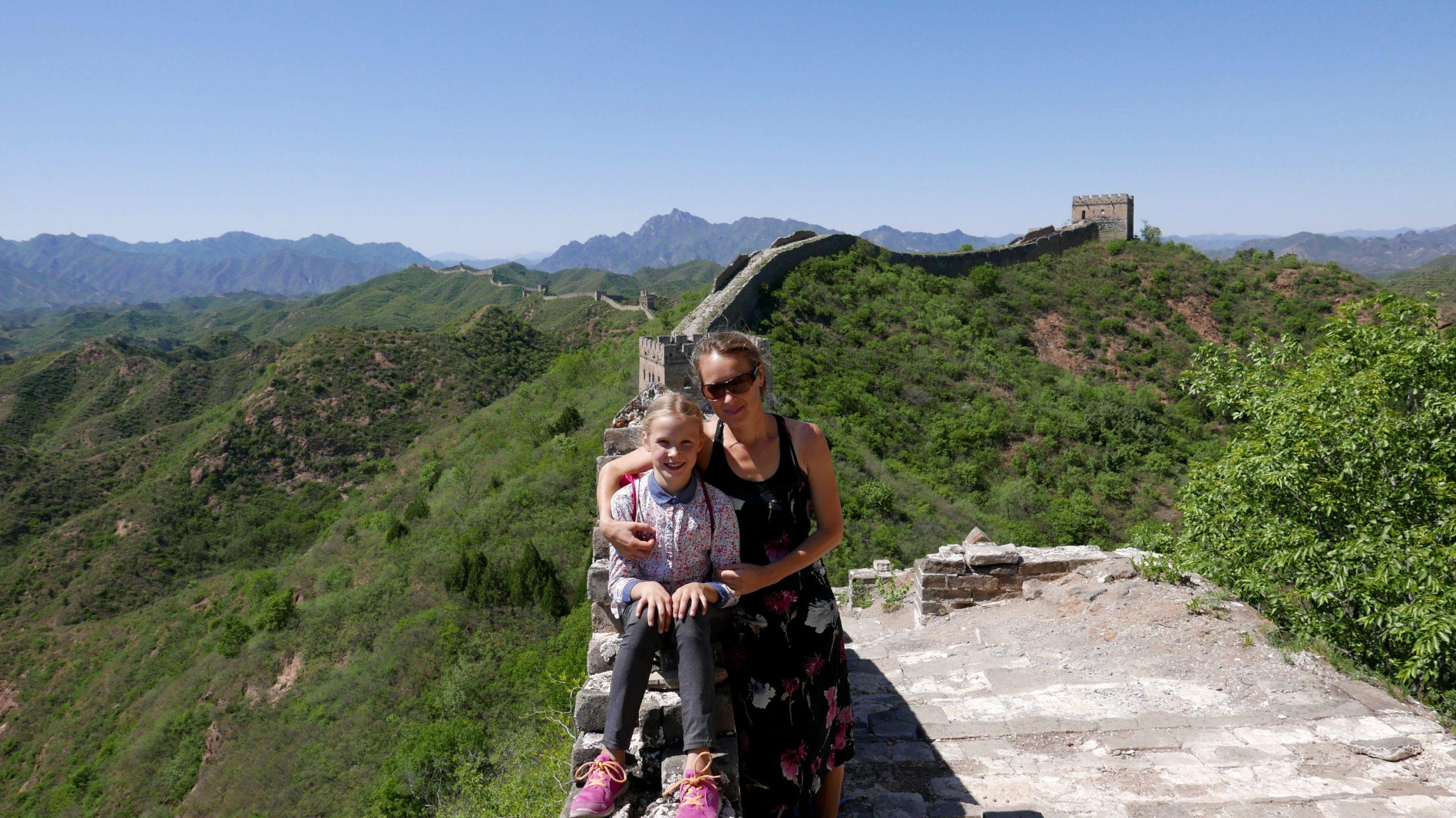 Chinesische MAuer ohne Touristen