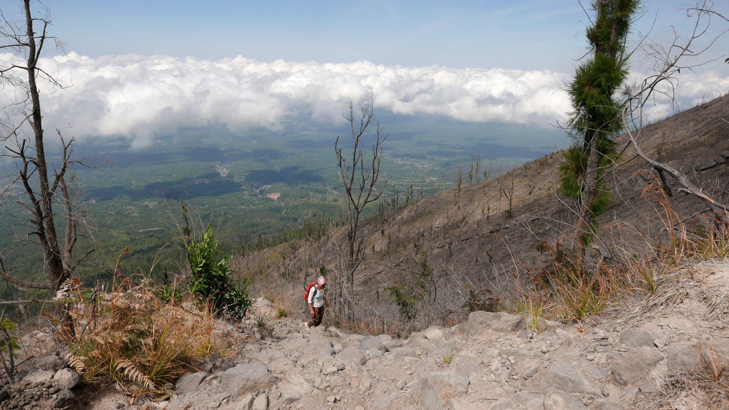 hiking to Mount Agung Bali