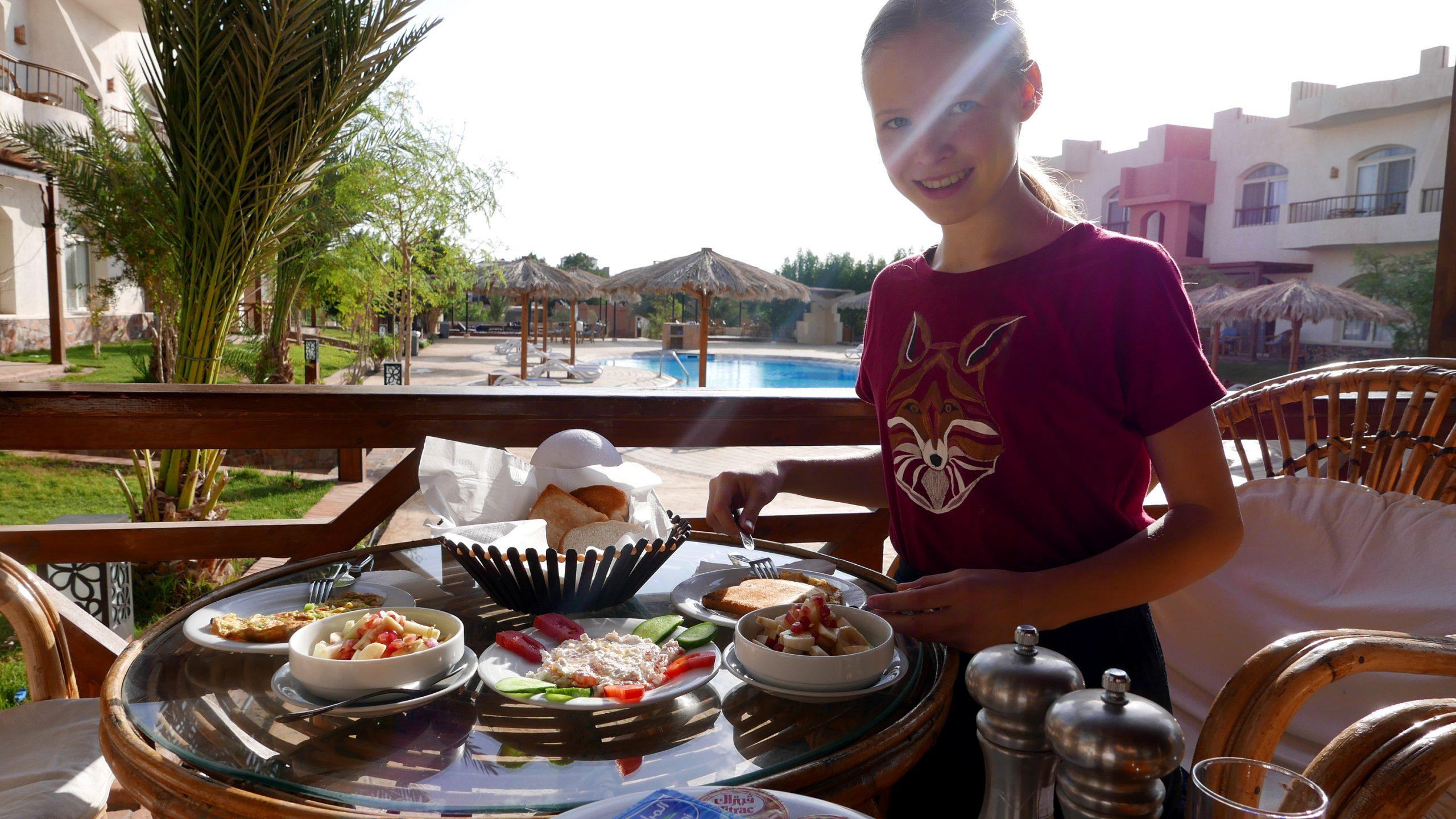 sheikh ali dahab egypt breakfast