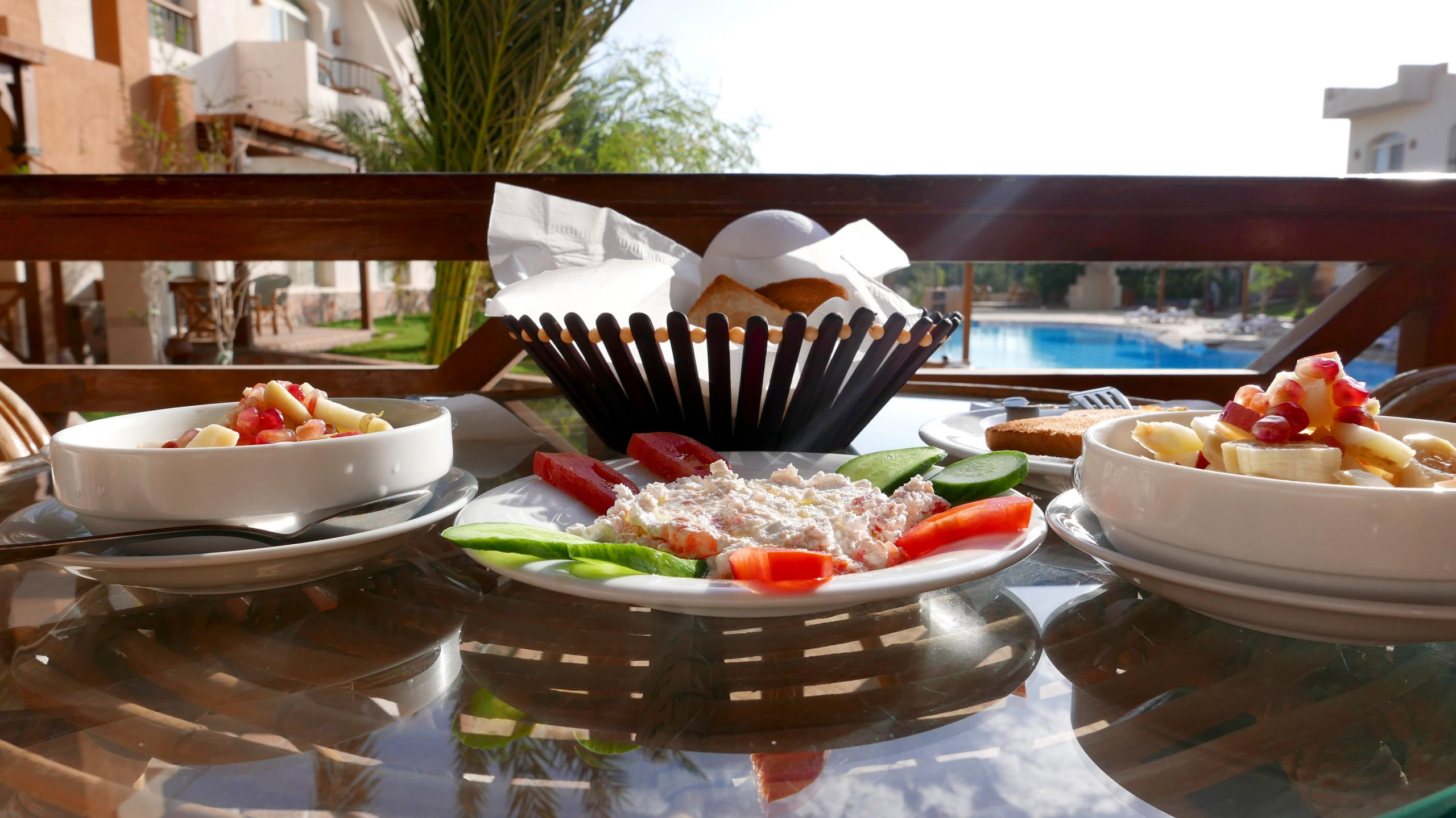 sheikh ali dahab resort breakfast