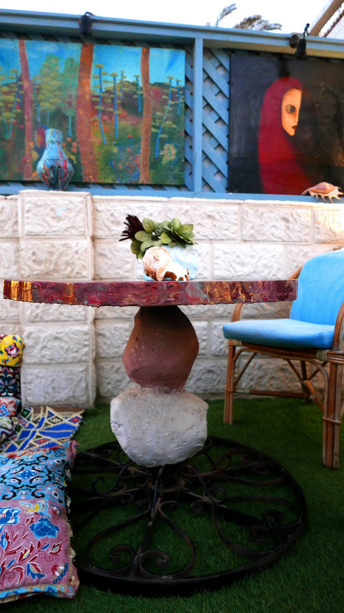 sky rock dahab art hotel egypt travel films