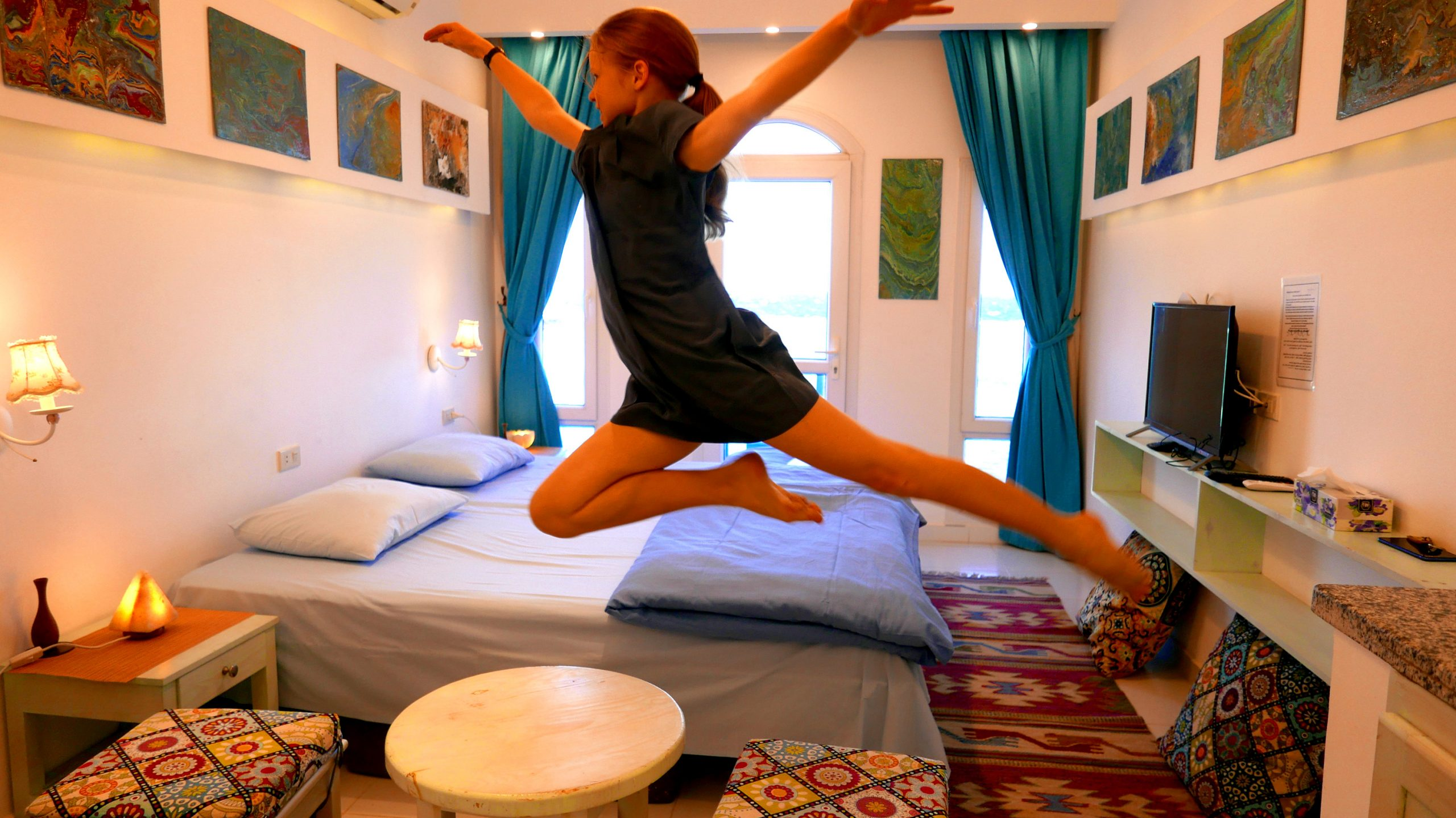 sky rock dahab hotel travel films
