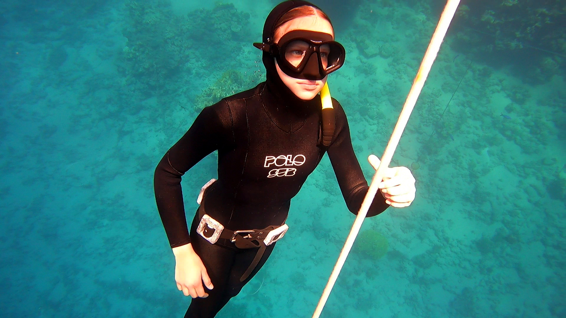 Anna Becker freediving school Egypt