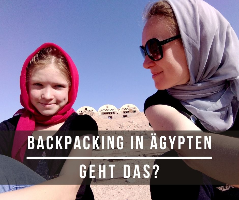 backpacking in aegypten