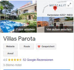 villas parota travel films